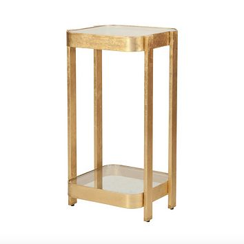 Worlds Away Sheldon Two Tier Side Table
