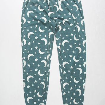 COSMIC LOVE Moon And Star Womens PJ Pants | Pajamas