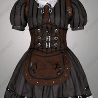 Alice Madness Returns Alice Stream Cosplay Costume Custom Size