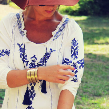 Harlow Embroidered Tunic