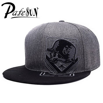 PATESUN Top Selling Gothic Metal Mulisha Baseball Cap Women Hats 2016 New Fashion Brand Snapback Caps Men hip hop beisebol touca