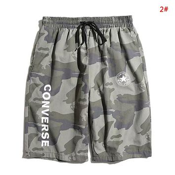 Converse Fashion New Letter Star Print Women Men Sports Leisure Shorts 2#