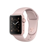 Apple Watch - Rose Gold Aluminum Case with Pink Sand Sport Band