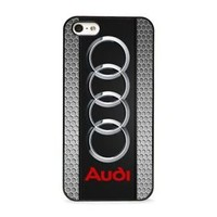 Best Audi Silver Logo Fit Hard Case For iPhone 6 6s 7 8 Plus X Cover +