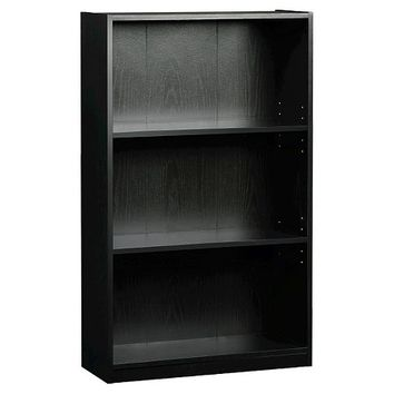 room essentials 3 shelf bookcase black from target. Black Bedroom Furniture Sets. Home Design Ideas