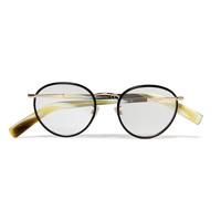 Tom Ford - Round-Frame Acetate and Metal Optical Glasses | MR PORTER