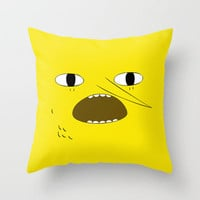 unacceptable Throw Pillow by Sara Eshak | Society6
