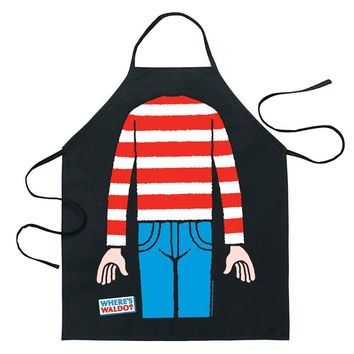 Where's Waldo - Body Costume Apron