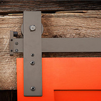 Interior Barn Door Sliding Hardware- Flat Track