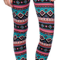 Free To Fly Tribal Print Leggings