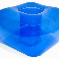 Inflatable Bubble Ottoman - Ocean Blue