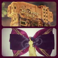 Tower of Terror Inspired disney hair bow