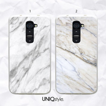 LG white marble phone case - stylish unique grey marble case for LG g2, lg g2 mini, LG g3, Nexus 4, Nexus 5, L70, L90 - N26