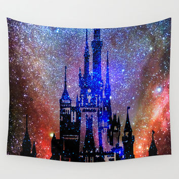 Fantasy Disney. Nebulae Wall Tapestry by Guido Montañés