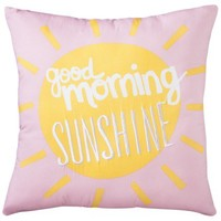 Circo® Head in the Clouds Good Morning Sunshine Decorative Pillow