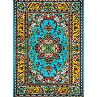 Thornton Blue/Yellow Indoor/Outdoor Area Rug