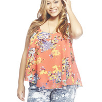Floral Swing Tank | Wet Seal