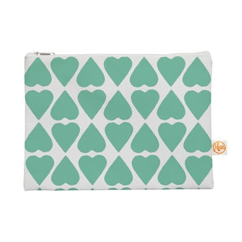 """Project M """"Mint Diamond Hearts"""" Everything Bag"""