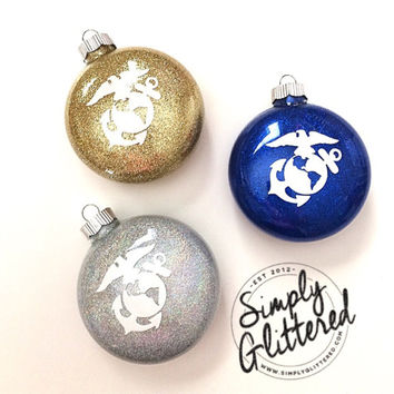 EGA Glitter Ornament