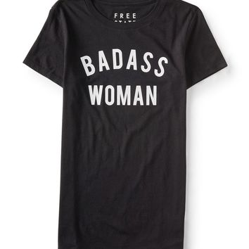 FREE STATE BADASS WOMAN GRAPHIC T
