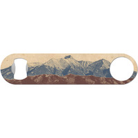 Rocky Mountain High - Camping Bottle Opener