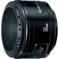 Canon - EF 50mm f/1.8 II Telephoto Lens for Canon Digital SLR Cameras