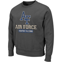 Air Force Falcons Pullover Sweatshirt - Charcoal