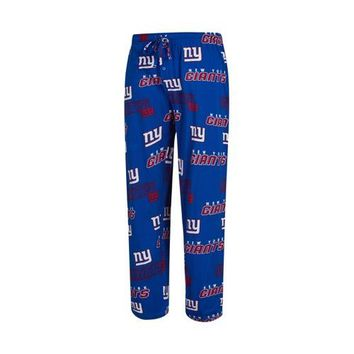 NY Giants Mens Slide AOP Knit Pants