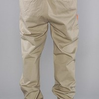 DGK The Working Man Chinos in Khaki,Pants for Men