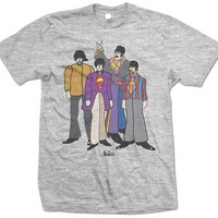 Beatles Yellow Submarine Characters Shirt Size Small