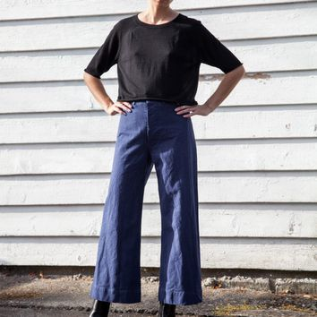 One of a Few — Jesse Kamm Sailor Pant - Cunningham Blue