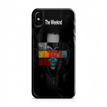 The Weeknd Album Cover iPhone X Case