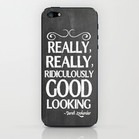 Really, really, ridiculously good looking (Zoolander). iPhone & iPod Skin by John Medbury (LAZY J Studios)