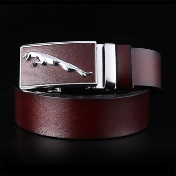 business  brown black cow   genuine leather  strip strap belt  with ratchet buckle AND LEATHER RINGS