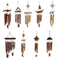 Vintage Relaxing Bamboo Yard Garden Outdoor Living Wind Chimes Windchime Home Decor 9 Styles Pick