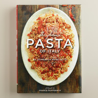 """The Glorious Pasta of Italy"" Cookbook - World Market"