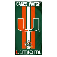 Miami Hurricanes Premium Beach Towel