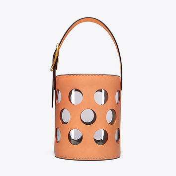 Tory Burch Perforated Bucket Bag