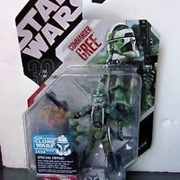 Star Wars 30th Anniversary 03 COMMANDER GREE Action Figure Toy Hasbro 2007 NEW