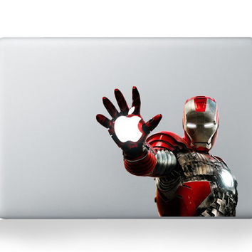 Iron Man For apple mac stickers DIY Vinyl Decal Sticker for Apple Macbook Pro Air 13 11 15 inch Laptop Case Cover Skin