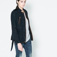 QUILTED JACKET WITH PIPING - Blazers - Woman | ZARA United States