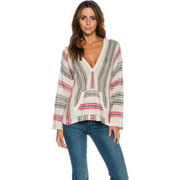 BILLABONG ISLAND BAJA BEACH SWEATER
