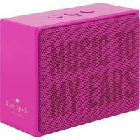 kate spade new york - Portable Bluetooth Speaker - Rhodamine Red/Pink