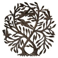 Double Tree of Life Wall Sculpture - Fair Trade - Gaiam