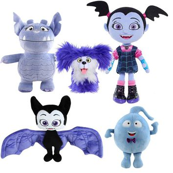 Junior Vampirina Wolfie Gregoria Demi Bat Plush Toy Soft Stuffed Doll for Kids 5 Styles