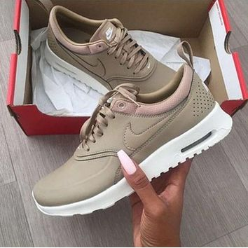 Trendsetter Nike Air Max Thea Premium Women Men Casual Sport Runing Shoes  Sneakers 62878b3a18