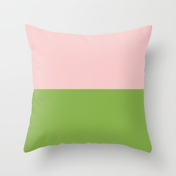 Goodbye 2016, Welcome 2017 - PANTONE Color of the Year Throw Pillow by Sagacious Design
