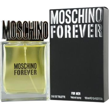 Fragrance MEN MOSCHINO FOREVER by Moschino EDT SPRAY 3.4 OZ 2011 casual