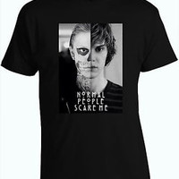 American Horror Story T-Shirt Evan Peters Normal People Scare Me T-Shirt