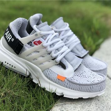 OFF-WHITE x Nike Air Presto 2.0 Gray AA3830-001 36---45